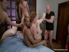 Bound Gang bangs: Audrey Hollander Returns To The Industry