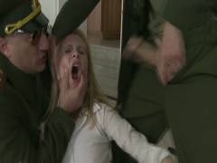 Bound Groupsexes: Daddy's Girl: 19 Year Old Russian Cutie's House Is Invaded By Officers