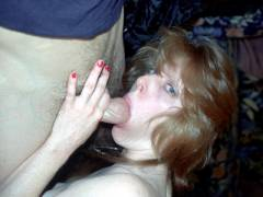 Amateur Brunette Gives Blowjob