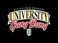 University Gang Bang 13