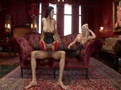 The Upper Floor: Alpha Sodomy Slave Teaches Her Bitch To Service Hard Joint