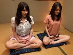 Anna Kirishima and Kana Suzuki hammered at yoga